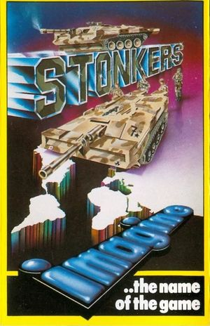 Cover for Stonkers.
