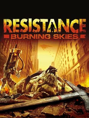 Cover for Resistance: Burning Skies.