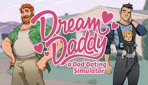 Cover for Dream Daddy: A Dad Dating Simulator.