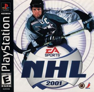 Cover for NHL 2001.