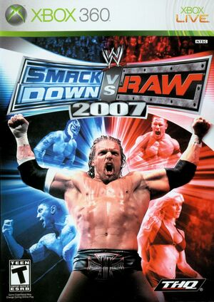 Cover for WWE SmackDown vs. Raw 2007.