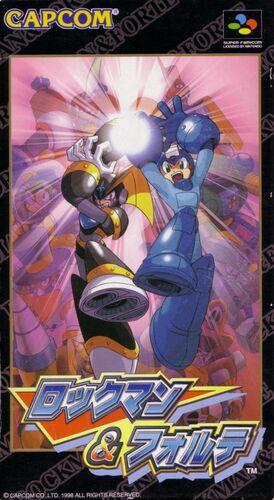 Cover for Mega Man & Bass.