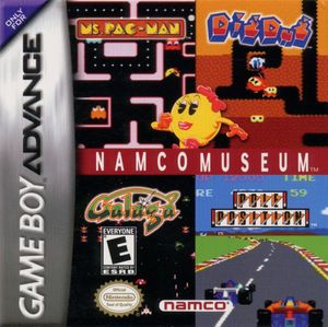 Cover for Namco Museum.