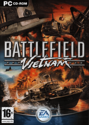 Cover for Battlefield Vietnam.