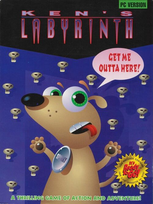 Cover for Ken's Labyrinth.