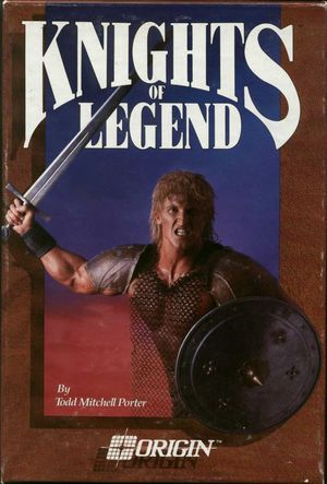 Cover for Knights of Legend.