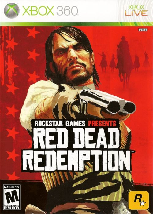 Cover for Red Dead Redemption.