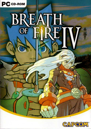 Cover for Breath of Fire IV.
