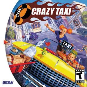 Cover for Crazy Taxi.