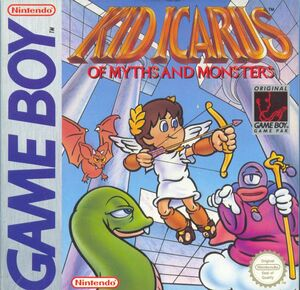 Cover for Kid Icarus: Of Myths and Monsters.