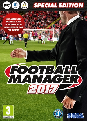 Cover for Football Manager 2017.