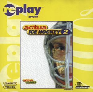Cover for Actua Ice Hockey 2.