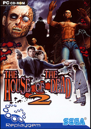 Cover for The House of the Dead 2.