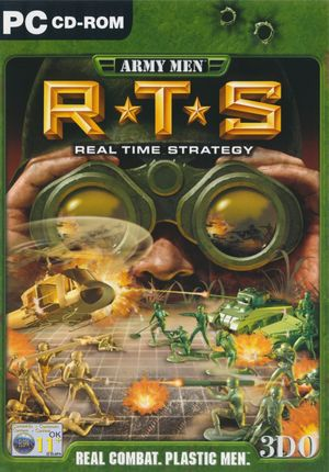 Cover for Army Men: RTS.
