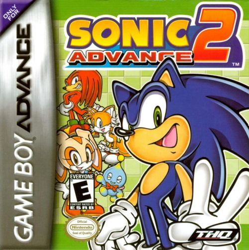 Cover for Sonic Advance 2.