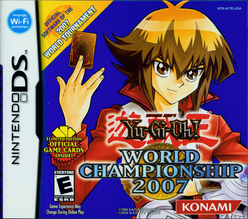 Cover for Yu-Gi-Oh! World Championship 2007.