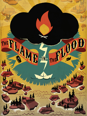 Cover for The Flame in the Flood.