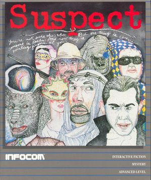 Cover for Suspect.