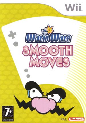 Cover for WarioWare: Smooth Moves.