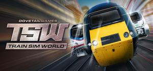 Cover for Train Sim World.