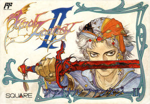 Cover for Final Fantasy II.
