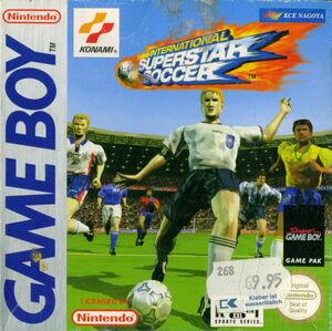 Cover for International Superstar Soccer.