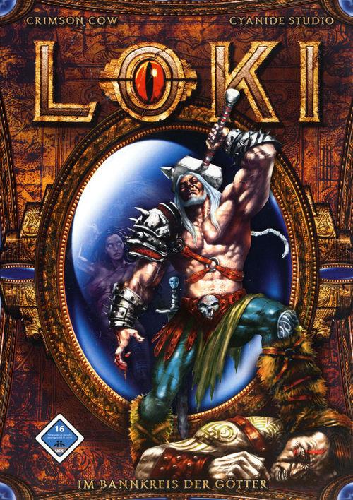 Cover for Loki: Heroes of Mythology.