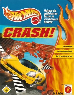 Cover for Hot Wheels: Crash!.