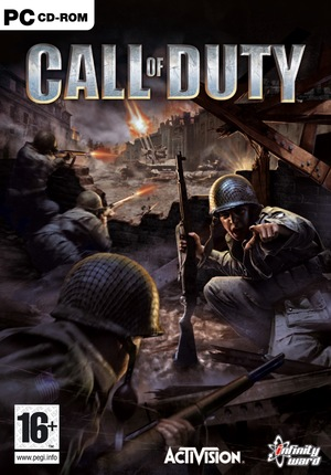 Cover for Call of Duty.