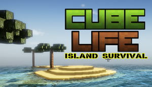 Cover for Cube Life: Island Survival.