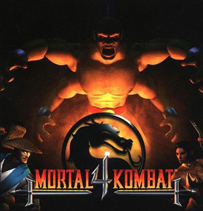 Cover for Mortal Kombat 4.