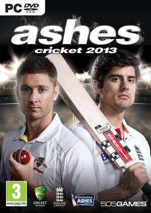 Cover for Ashes Cricket 2013.