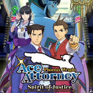 Cover for Phoenix Wright: Ace Attorney − Spirit of Justice.