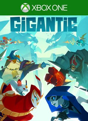 Cover for Gigantic.