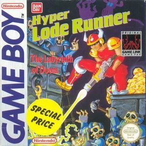 Cover for Hyper Lode Runner.