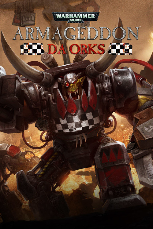Cover for Warhammer 40,000: Armageddon - Da Orks.