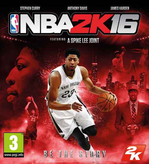 Cover for NBA 2K16.