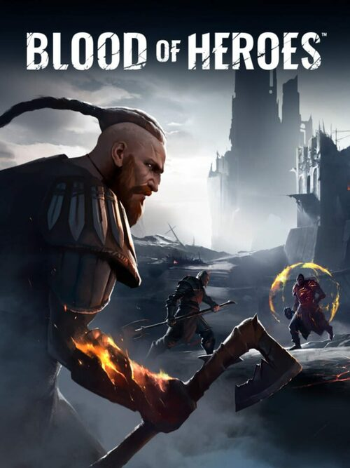 Cover for Blood of Heroes.