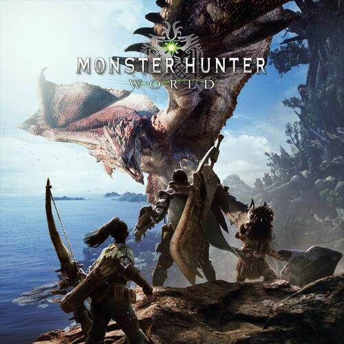 Cover for Monster Hunter: World.