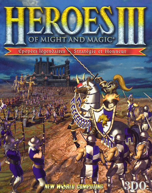 Cover for Heroes of Might and Magic III.