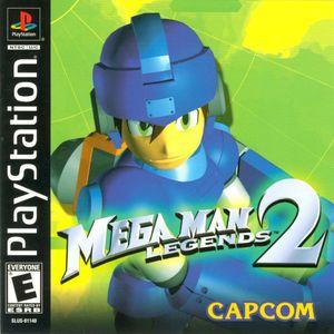 Cover for Mega Man Legends 2.