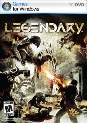 Cover for Legendary.