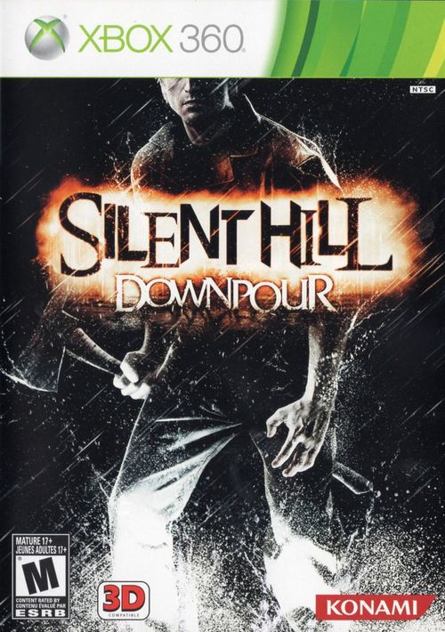 Cover for Silent Hill: Downpour.