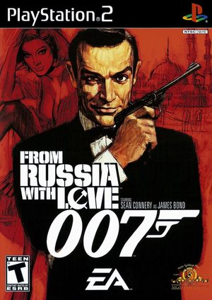 Cover for 007: From Russia with Love.