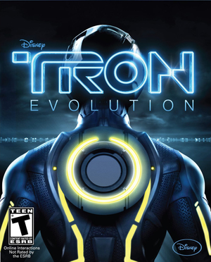 Cover for Tron: Evolution.