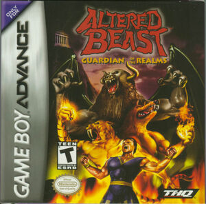 Cover for Altered Beast: Guardian of the Realms.