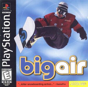Cover for Big Air.