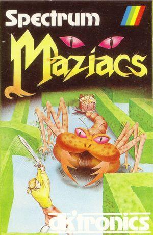 Cover for Maziacs.