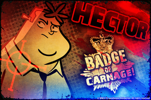 Cover for Hector: Badge of Carnage.