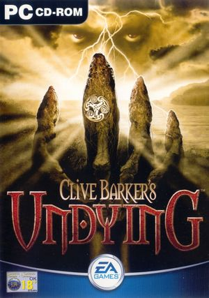 Cover for Clive Barker's Undying.